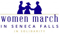 Women March in Seneca Falls